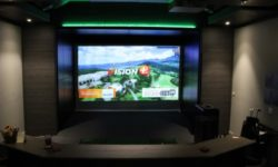 Current Home Technologies Golfzon golf simulator