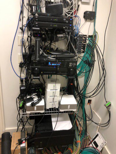 Montana Integrated Living rack cleanup