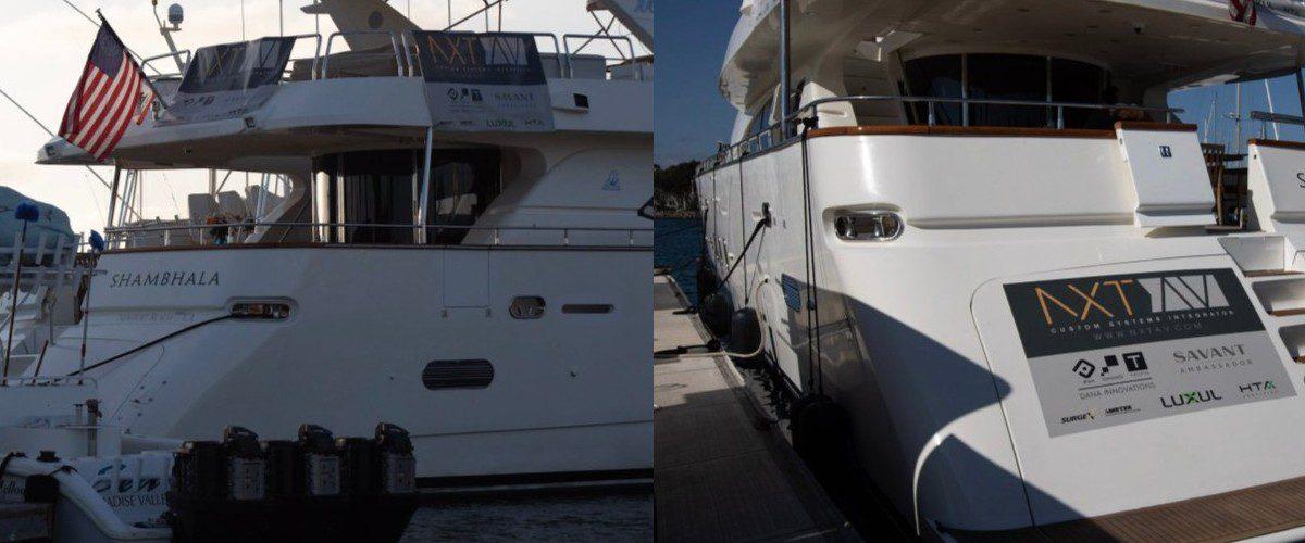 Savant Automation, SurgeX Power Anchor Smart Yacht Install