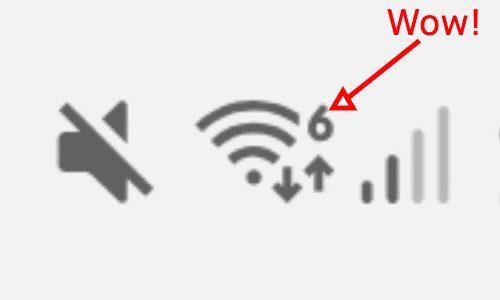Wi-Fi 6 icon