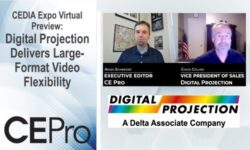 CEDIA Expo Virtual Digital Projection