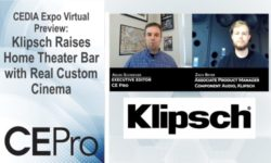 CEDIA Expo Preview Klipsch Real Custom Cinema