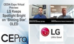 CEDIA Expo Virtual Preview LG Electronics
