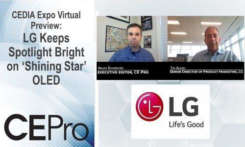 CEDIA Expo Virtual Preview: LG Keeps Spotlight Bright on 'Shining Star' OLED