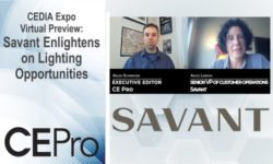 Savant CEDIA Expo Virtual CE Pro