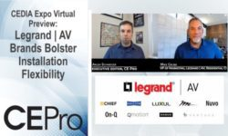 CEDIA Expo Virtual Preview Legrand | AV brands
