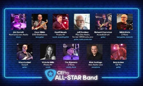 CE Pro All-Star Band Rocks  at CEDIA Expo Virtual