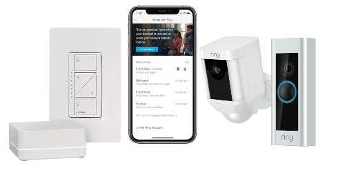 Ring Smart Doorbells to Integrate with Lutron Caséta, RA2 Select