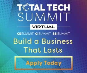 Total Tech Summit 2020 Virtual Banner