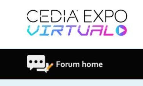 CEDIA Expo Virtual Forum Networking Lounge