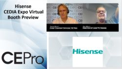 Hisense CEDIA Expo Virtual Preview