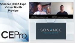 Sonance CEDIA Expo Virtual