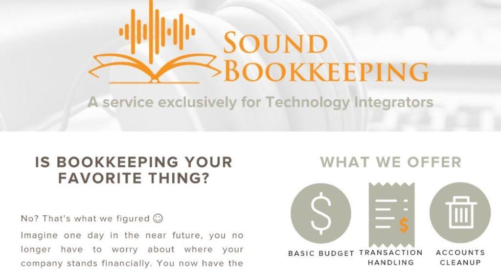 Sound Bookkeeping CEDIA Expo Virtual