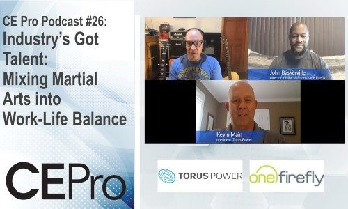 CE Pro Podcast #26: Mixing Martial Arts into Work-Life Balance