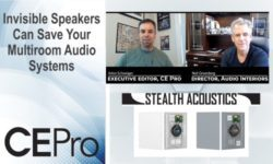 Stealth Acoustics Audio Interiors invisible speakers