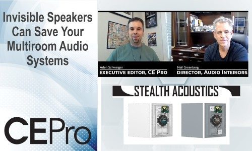 Invisible Speakers Can Save Your Multiroom Audio System Designs