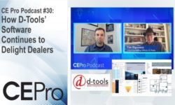 CE Pro Podcast D-Tools CEDIA Expo Virtual