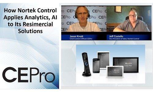 Nortek Control Applies Analytics, AI to Resimercial Solutions
