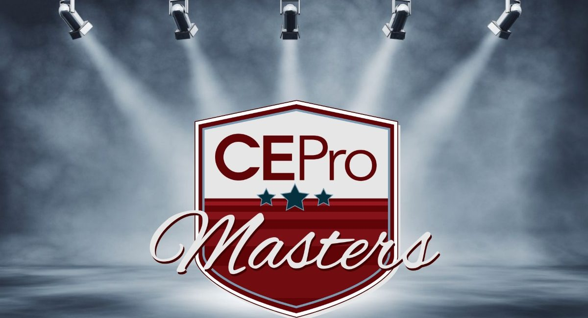 CE Pro Masters Are Top of the Class for 2020