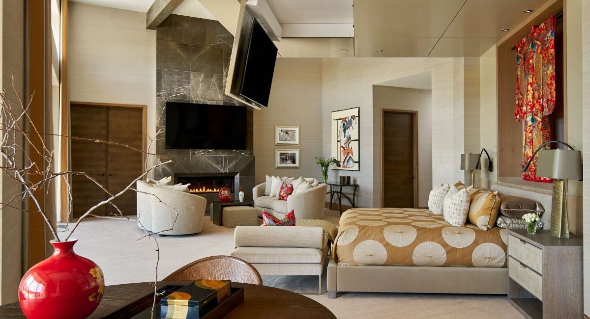 Spectacular Lighting and Stealth TVs Transform Master Suite Into Award-Winning Install