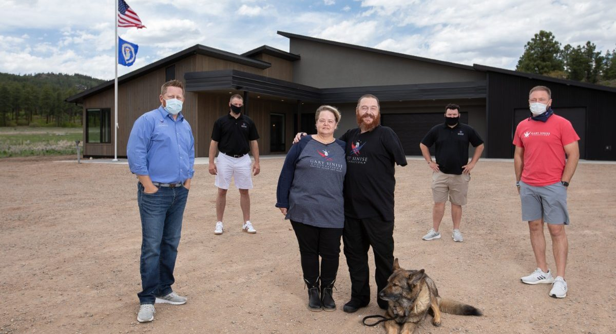 Wounded U.S. Air Force Vet Receives Fully Automated Smart Home Designed to Improve Quality of Life