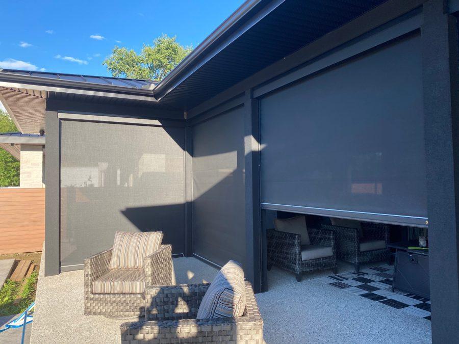 SI Zen shades Ultimate Home Theatre