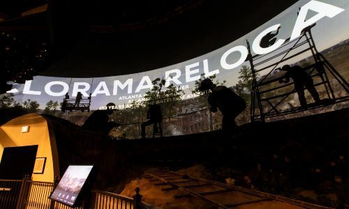 Atlanta History Center Uses Digital Projection to Bring Past to Life in Cyclorama Exhibit