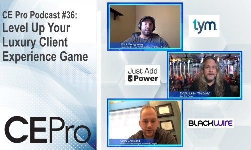 CE Pro Podcast #36: Level Up Your Luxury Client Experience Game