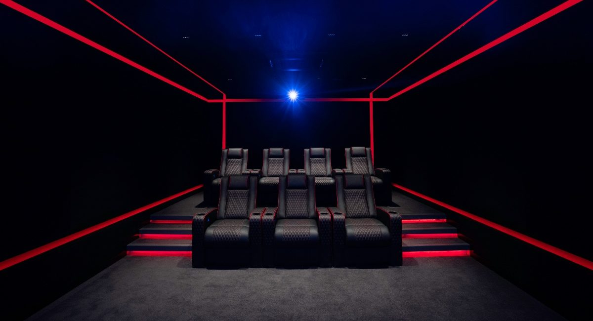 Indian Integrator Creates 'Dark Night' Home Theater to Serve as Respite for Weary Showroom Owner