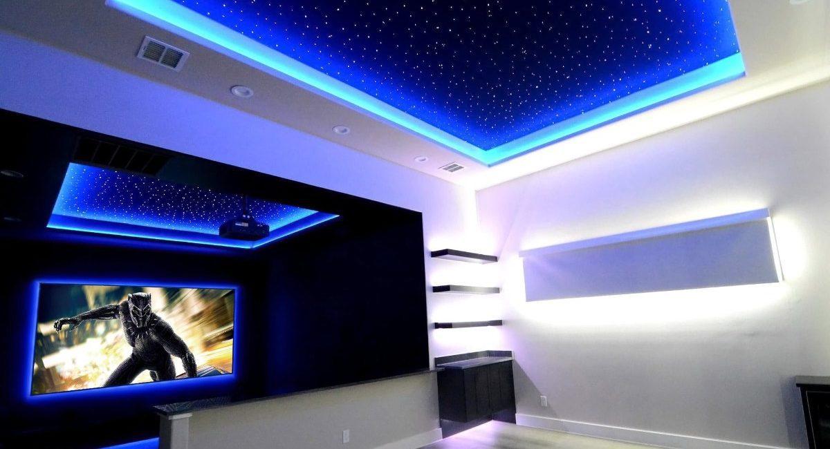 Lighting, Stars Transform Budget Theater Build into Award-Winning Install