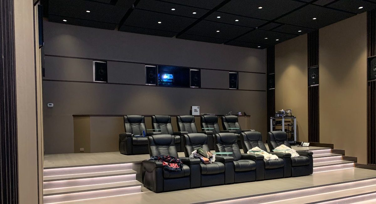 Texas Integrator Collaborates with Designers to Create $1M Home Theater Modeled After Recording Studio, slide 2