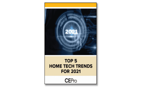 Top Five Home Tech Trends for 2021