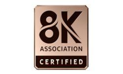 8K certification program logo