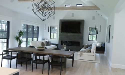 Connecticut Home Builder Adds Full Suite of Smart Home Tech to Complement a Unique Design Aesthetic