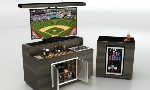 Cabinet Tronix Outdoor Hidden Bar and TV Lift Cabinet