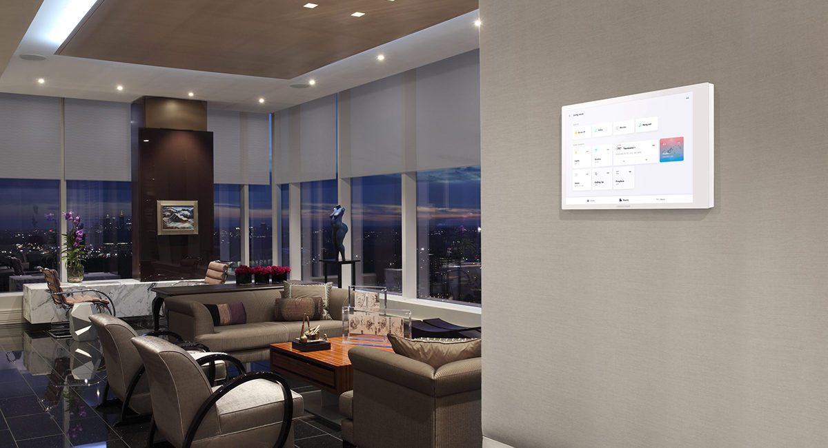 Hands-On: Streamlined Crestron 70 Series Touch Screens Provide User-Friendly Ergonomics