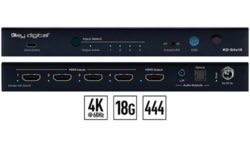 Key Digital KD-S4x1X 4K/18G HDMI switcher