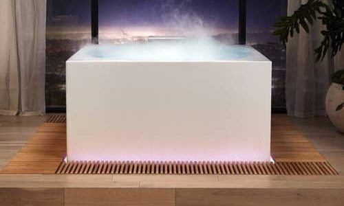 Kohler Debuts $16,000 Smart  Bathtub with Wellness Light, Fog, Aroma Features