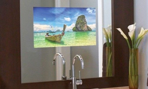 Smart TV Mirrors Top List of Most-Desired Bathroom Technology