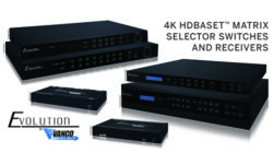 Vanco Evolution series switches and 4k receivers