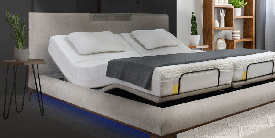 CES 2021 Ergomotion smart bed wellness biophilia