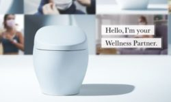 Digital CES 2021 TOTO wellness toilet