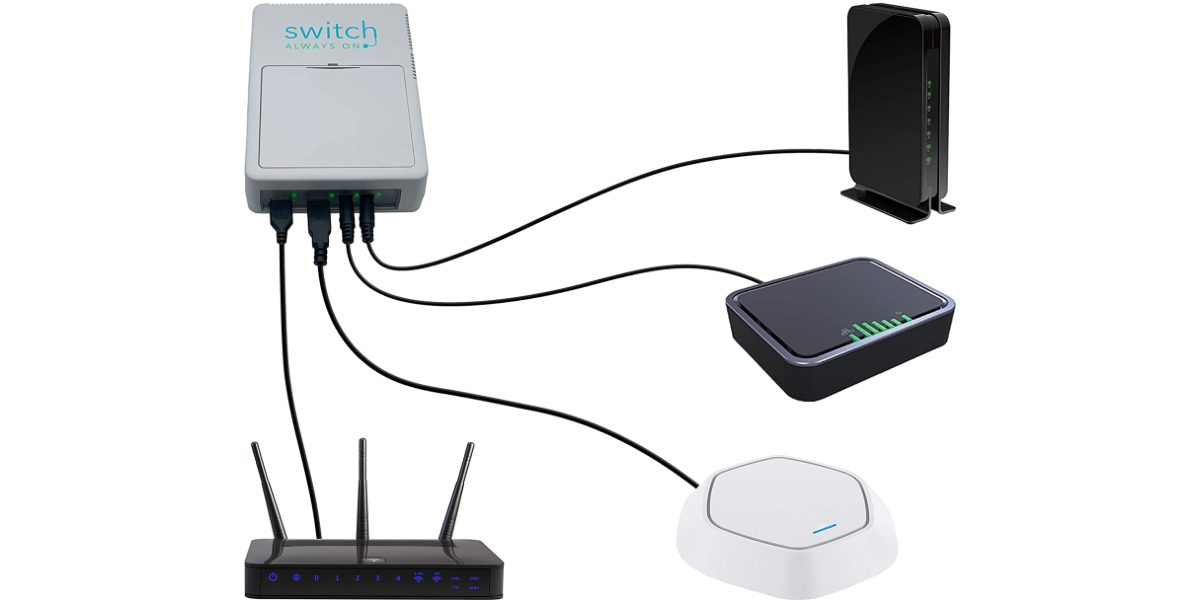 Hands-On: Switch Always On Provides Uninterrupted Power & Connectivity for Networking Devices