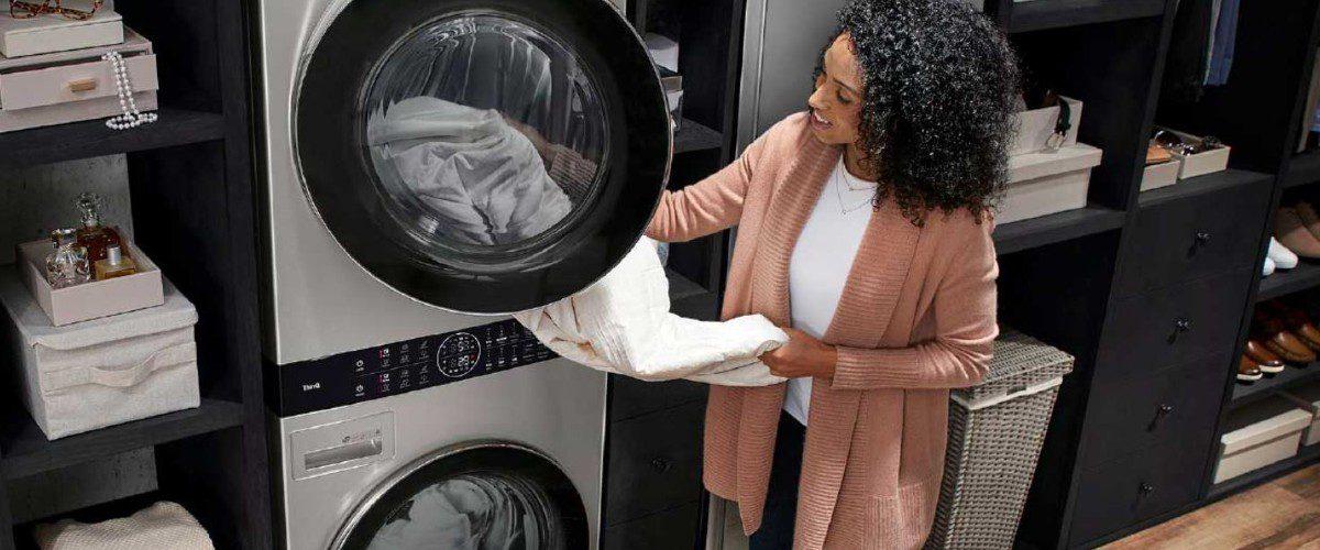 LG Smart Washer/Dryer Combo Wins KBIS Design Bites
