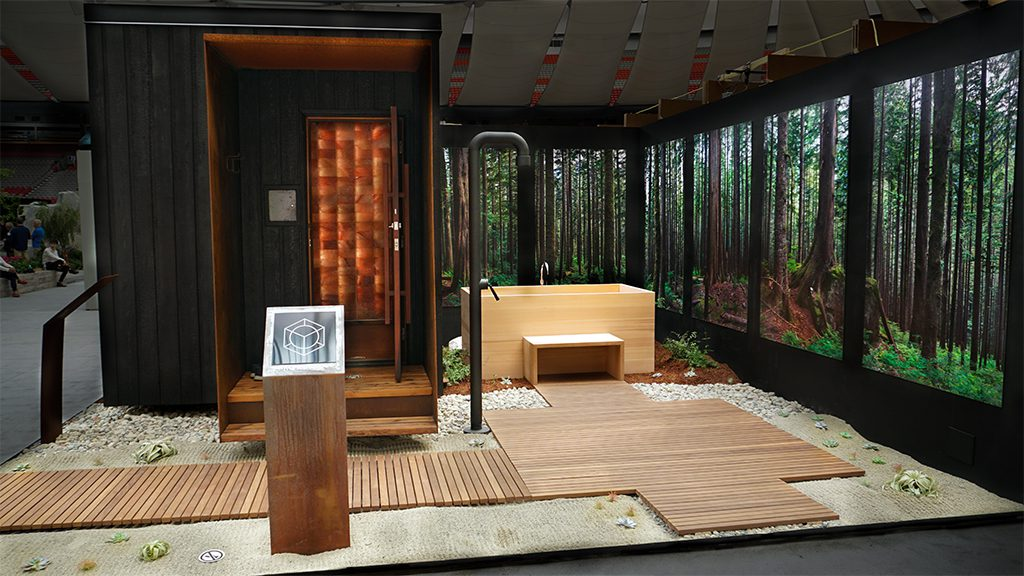 $50,000 'Wellness Pod' Outfitted with High-Tech Controls