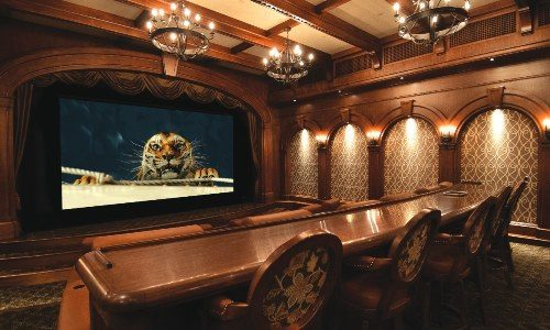 California Integrator  Creates Dazzling Mediterranean-Themed,  Dolby Atmos Powered Home Theater