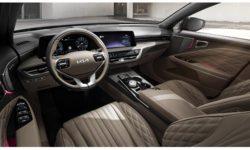 Kia K8 sedan with Meridian Audio