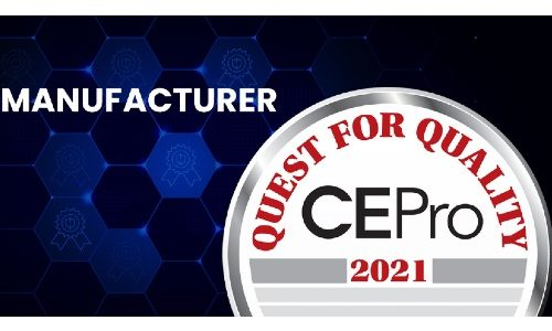 CE Pro Quest for Quality Awards 2021: Manufacturers
