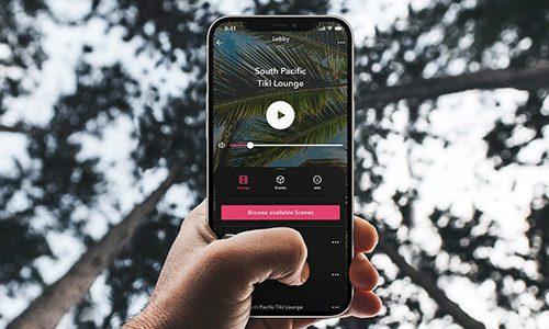 Spatial immersive audio app
