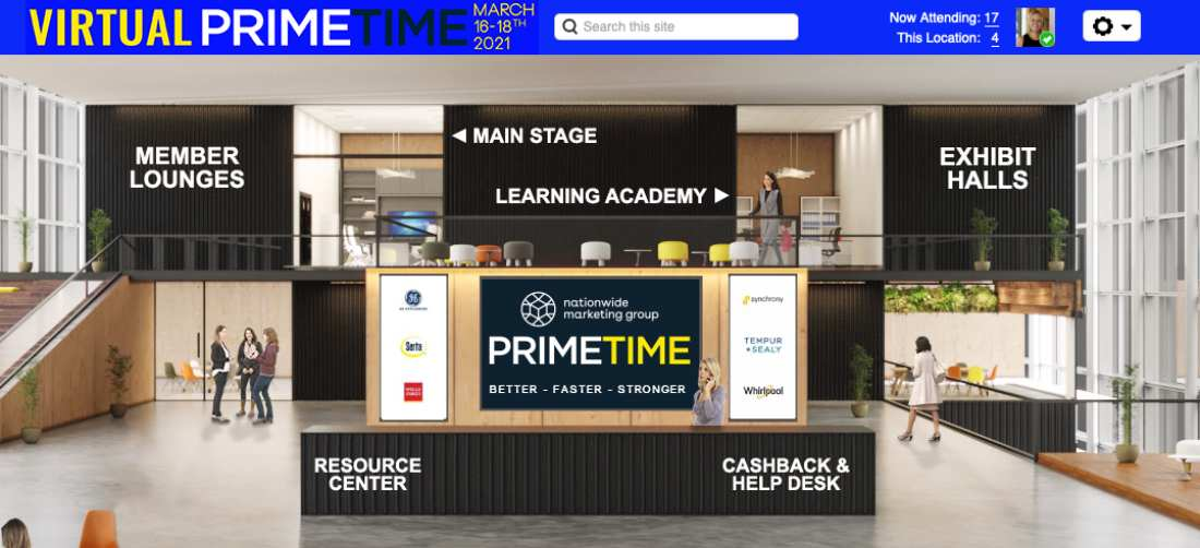 Nationwide Virtual Primetime Preps Members for Strong Economy